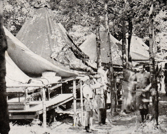 Tent Inspection (mid 1930s)