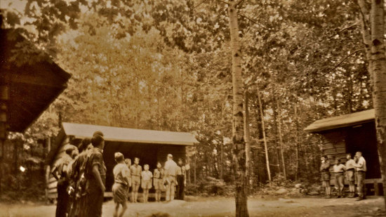 Rocky Ledge Campsite (late 1930s)