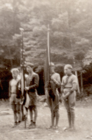 Scouts on Parade Ground (1930s)