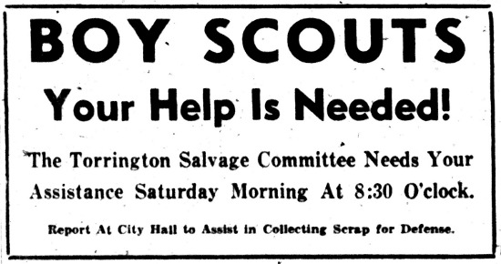 Torrington Register (29 July 1942)