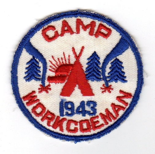 1943 Camp Patch