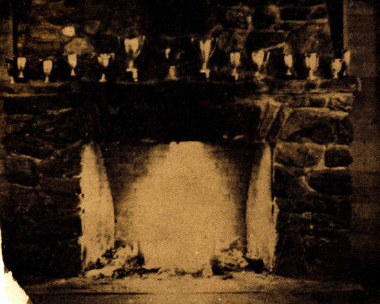 Dining Hall Fireplace (Summer 1944)