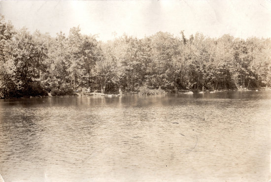 Camp Workcoeman Shoreline in 1924