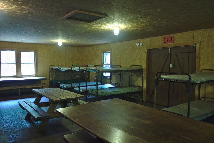 Griffin Lodge interior