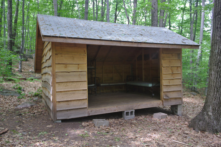 adirondack shelters